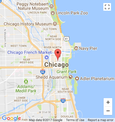 chicago theater map image