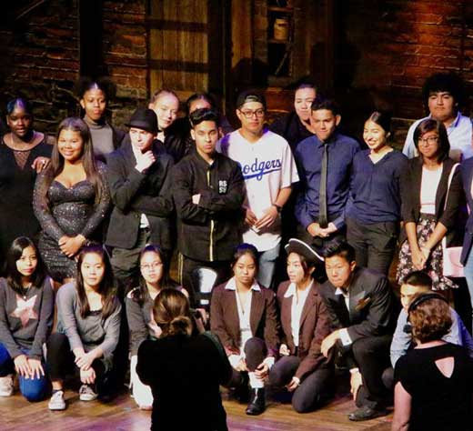 Image of 'Hamilton' Education Program Takes Over Pantages Theater