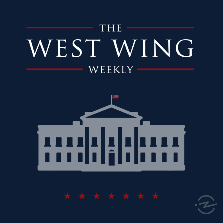 Image of Lin-Manuel Miranda And Thomas Kail On The West Wing Weekly