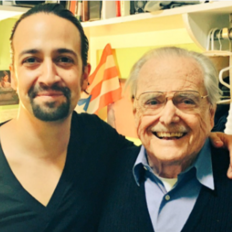 Image of Lin-Manuel Miranda and William Daniels Talk Hamilton, 1776, Mr. Feeny, and More