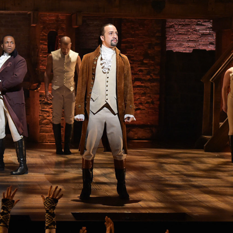 "Image of Songs That Defined the Decade: HAMILTON Cast's ""My Shot"""