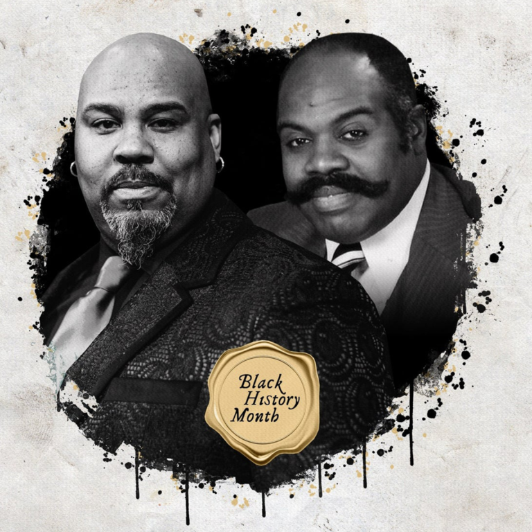 Image of Celebrating Black History Month: James Monroe Iglehart Honors Original The Wiz Lion, Ted Ross